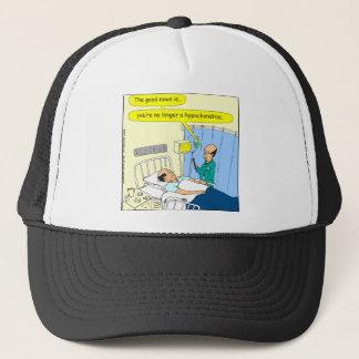 348 No longer a hypochondriac color cartoon Trucker Hat