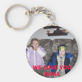 34926553910_0_BG, WE LOVE YOUNANA BASIC ROUND BUTTON KEYCHAIN