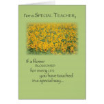 3496 Teacher Paradise Thank You Greeting Cards