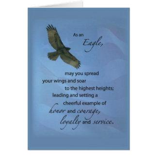 3497 Eagle Award Soar Greeting Card