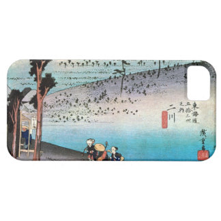 34. 二川宿, 広重 Futagawa-juku, Hiroshige, Ukiyo-e iPhone SE/5/5s Case