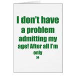 34 admita mi edad tarjetas