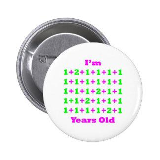 34 años de GR magenta Pin