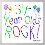 ¡34 años de la roca! posters