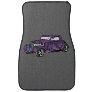 34 Chevy Chopped 3 Window Coupe Car Floor Mat