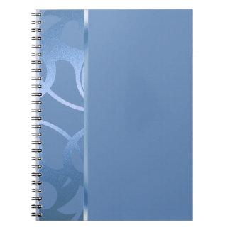 34 Color Choices - Shiny Border Spiral Notebook
