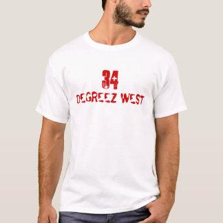 34 DEGREEZ WEST T-Shirt