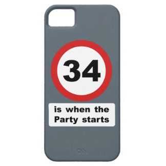 34 is when the Party Starts iPhone SE/5/5s Case