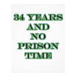 34 ninguna hora de prisión membrete