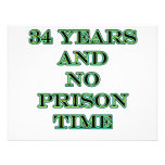 34 No prison time Invites