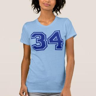 34 - número playeras
