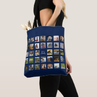 34 PHOTO COLLAGE Tote - Can EDIT COLOR