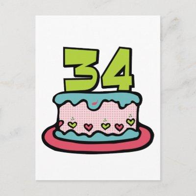 Contest Grandes z'oreilles acte IV 34_year_old_birthday_cake_postcard-p239568340417587436trdg_400