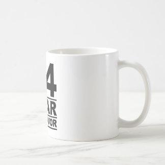 34 year survivor coffee mug