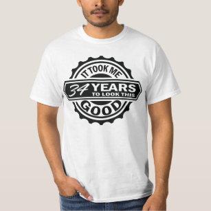 34th Birthday T Shirt