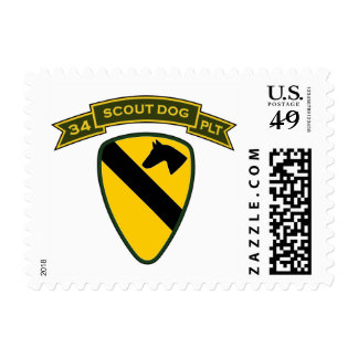34th IPSD - 1st Cavalry Div Stamps