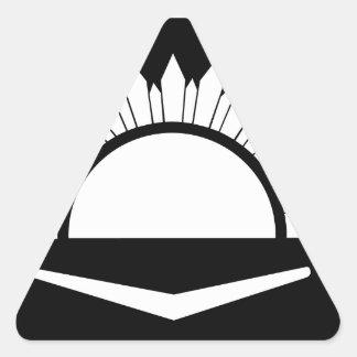 34to Brigada australiana de la infantería Calcomanía De Trianguladas