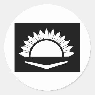 34to Brigada australiana de la infantería Pegatina Redonda
