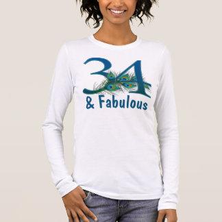 34to Camisetas del cumpleaños