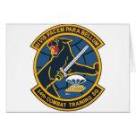 34to Escuadrilla del entrenamiento para el combate Felicitación