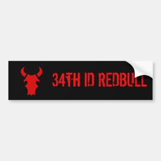 34to Identificación REDBULL Pegatina Para Auto