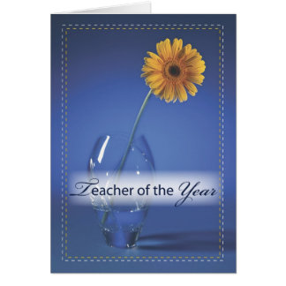 3500 Teacher of the Year Congratulations Card