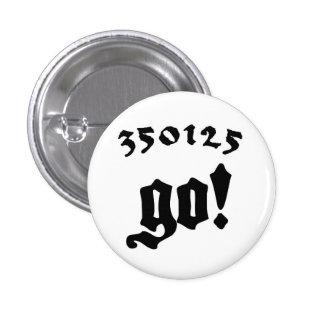 350125 Go! Pin Redondo 2,5 Cm
