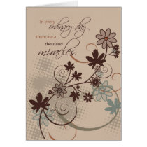 3501 Ordinary Day Miracles Card