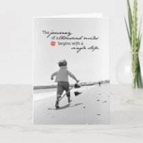 3509 Journey of Thousand Miles Support Card