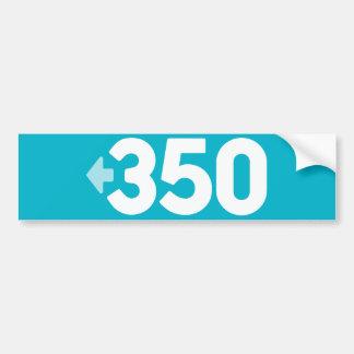 350 Bumper Sticker Car Bumper Sticker