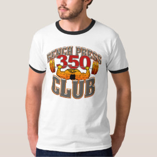 350 Club Bench Press TShirt