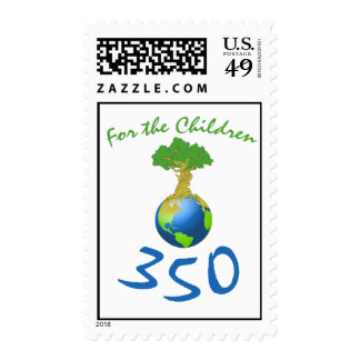 350 for the children stamp