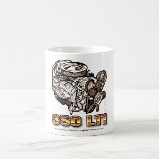 350 LT1 Corvette Engine Coffee Mug