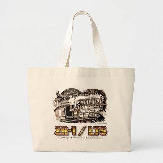 350 LT5 ZR1 Corvette Engine Canvas Bags
