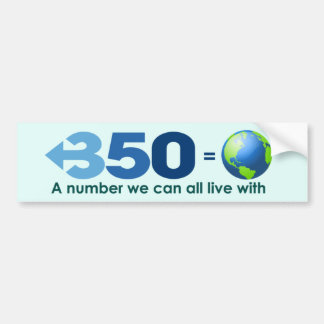 350 Now! Bumper Sticker