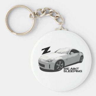 350Z Aint sleeping Basic Round Button Keychain