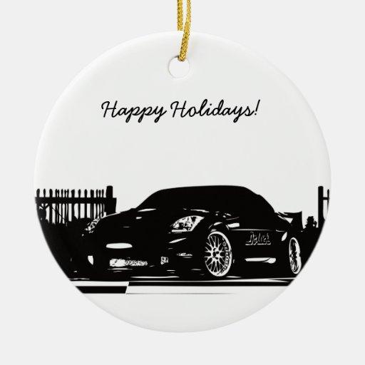 350Z Christmas Ornaments