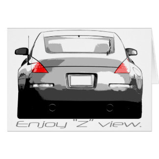 "350Z ""Enjoytheview."" Card"