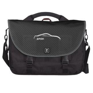 350Z white brushstroke logo Laptop Bags