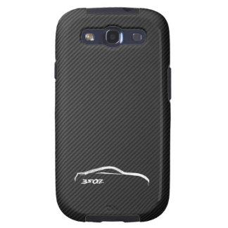 350Z White Silhouette Logo Galaxy S3 Cover