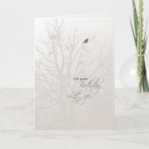 3519 Bird in Tree Recovery Birthday Card