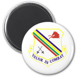 354th Fighter Wing 2 Inch Round Magnet