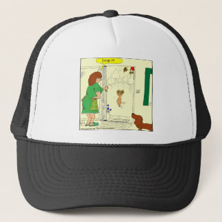 355 drop it Cartoon Trucker Hat