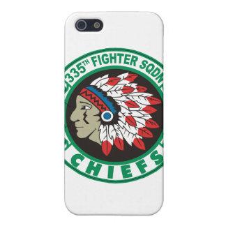 355o Caso del iPhone de los jefes del escuadrón de iPhone 5 Funda