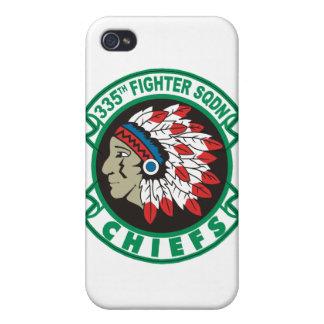 355o Caso del iPhone de los jefes del escuadrón de iPhone 4 Cobertura