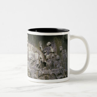 35674 2 Two-Tone COFFEE MUG