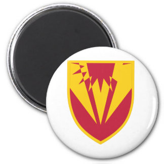 357 Air and Missile Defense Detachment 2 Inch Round Magnet