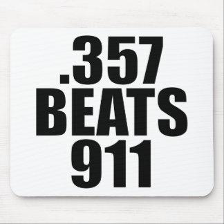.357 Beats 911 Mouse Pad