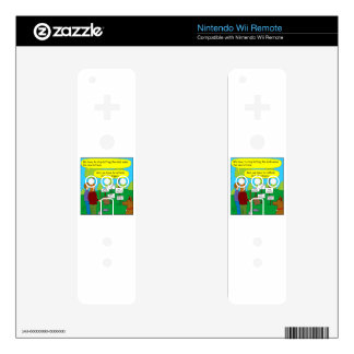 357 Cat the ripper color cartoon Decal For Wii Remote