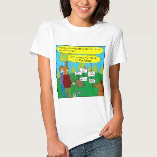 357 Cat the ripper color cartoon T Shirt